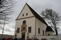 Hřbitovní kostel Panny Marie ve Vyškově