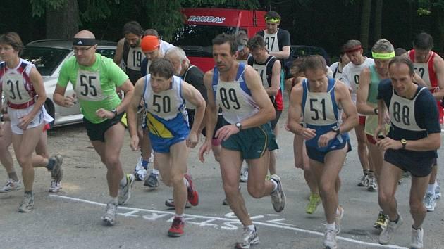 Závod pod názvem Nemojská sedmička přinesl vítězství vyškovskému běžci Milanu Adamcovi (s číslem 88). V Nemojanech však nezahálí a už připravují další klání, 26. července je v plánu Nemojská devítka.