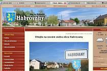 Webové stránky Habrovan.