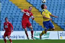 V utkání moravskoslezské ligy prohrálo B mužstvo Fastavu Zlín s MFK Vyškov 0:1.