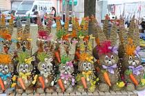 Velikonoční trhy na Masarykově náměstí ve Vyškově