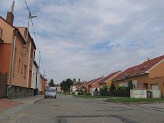 Joklova ulice ve Vyškově. Ilustrační foto.