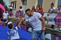 Připomenout si úspěchy sportovců na olympidádě, zasoutěžit si nebo se pobavit mohou lidé na Olympijských festival v Brně i Praze.