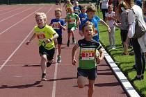 Základní kolo dětských běžeckých závodů Čokoládová tretra proběhlo na Mezinárodní den dětí  ve Vyškově.