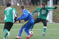 V okresním derby v rámci zimní přípravy porazil MFK Vyškov na své umělé trávě Framoz Rousínov 3:0.