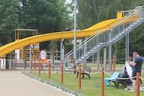 Vyškovský akvapark.