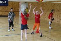 Vyškovský volejbalový klub uspořádal turnaj v minivolejbalu.