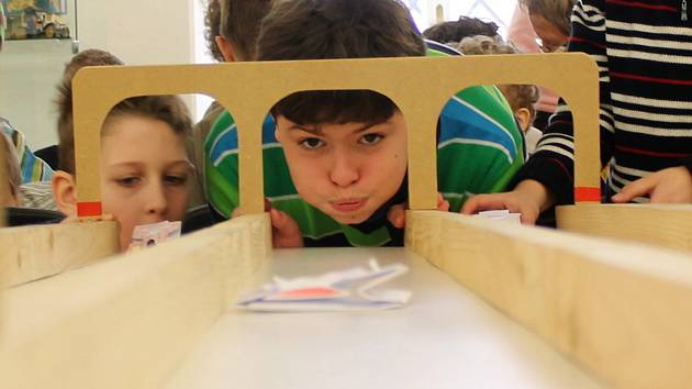 Desítky dětí v úterý vyrazily na prázdninový program Za autíčky do muzea, který se konal v Muzeu Vyškovska.