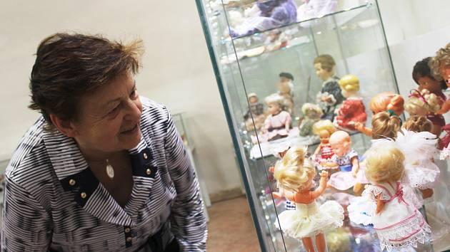 Panenky české výroby, z bývalého Sovětského svazu i NDR ze sbírky Jarmily Novotné vystavuje Muzeum Vyškovska. K vidění jich je mnoho desítek.