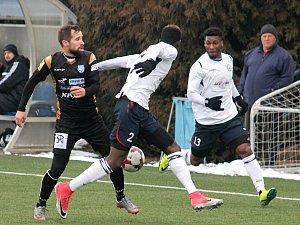 Fotbalisté Vyškova prohráli se Znojmem, ale Trousilův systém obstál