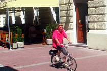Vyškovští cyklisté porušují zákazy.