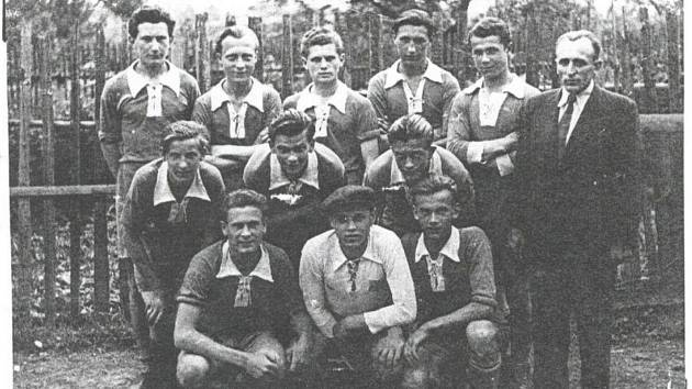 Dorost Vyškova, který v roce 1944 úspěšně bojoval v turnaji nejlepších družstev tehdejšího Protektorátu.