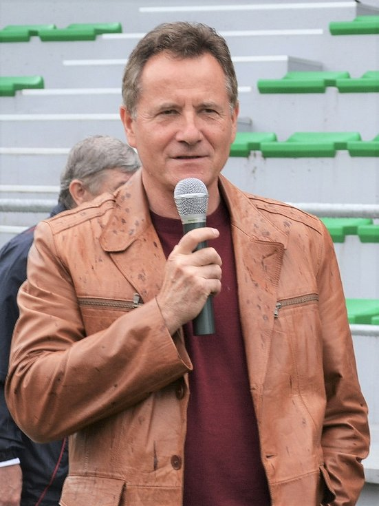 Úspěšný fotbalový trenér František Komňacký.