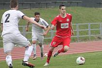 V dalším utkaní Moravskoslezské fotbalové ligy remizoval MFL Vyškov s 1. HFK Olomouc 1:1.