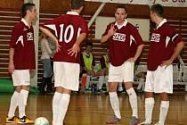 V osmém kole druhé ligy porazili futsalisté Amoru Vyškov Gillotinu Choceň 5:2.