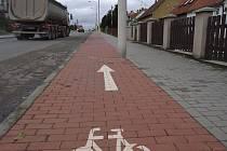 Práce v Rousínově se dotknou i cyklostezky v Čechyni.