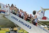 Příměstský tábor s tematickou letectví uspořádal Dům dětí a mládeže Bučovice.