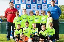 Ve finálovém turnaji Ondrášovka Cup 2016 kategorie U8 si výborně vedli osmiletí fotbalisté MFK Vyškov.