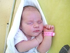 Laura Šmerdová, 49 cm, 3480 g, 21. srpna 2014, Nemojany, Nemocnice Vyškov.