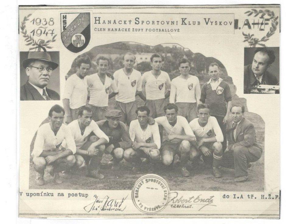 100 let fotbalu ve Vyškově.