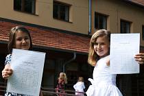 Žáci ze Základní školy Podomí mají od pátku prázdniny.