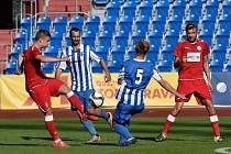 V 6. kole Moravskoslezské fotbalové ligy (MSFL) prohrál MFK Vyškov ve Vítkovicích s tamním MFK 1:2.