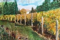 Obrazy Izabely Machútové si lidé můžou po skončení výstavy i koupit. Od 20. října.