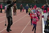 Snímky jsou z loňského Vyškovského Mikulášského běhu.
