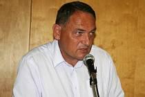 Předseda výkonného výboru OFS Vyškov Miloslav Brtníček.