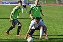 V utkání MSFL prohráli fotbalisté MFK Vyškov doma s Viktorií Otrokovice 0:1.