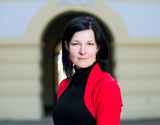 Eva Oubělická, ředitelka zámku ve Slavkově uBrna.