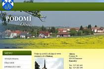 Novými internetovými stránkami se může pyšnit Podomí. Obec se rozhodla na stránky přidat například i diskusi, protože považuje zpětnou vazbu od lidí za důležitou.