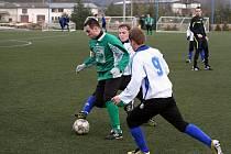 Framoz Rousínov v utkání s 1. FK Prostějov.