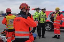 Práce záchranářů na jihu Moravy. Ilustrační foto