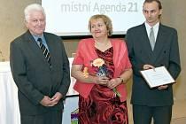 Mikroregion Drahanská vrchovina získal ocenění za splnění kritérií ve druhé nejtěžší ze čtyř kategorií v projektu Místní Agendy 21.