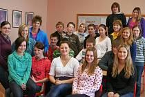 Studenti 3. B třídy vyškovského gymnázia