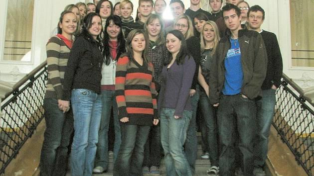 Studenti 3. A gymnázia v Bučovicích