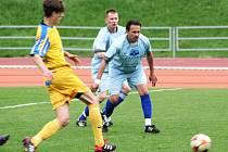 V utkání fotbalové divize porazil MFK Vyškov Sokol Tasovice 4:1.