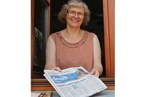 Knihovnice Zdeňka Adlerová leži propadla knihám už v dětství. Za tu dobu jich přečetla tisíce.