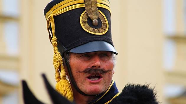 Napoleonské hry ve Slavkově u Brna.