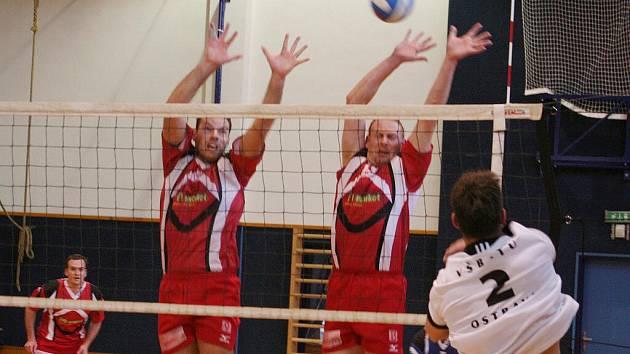 Vyškov (v červeném) vs VŠB Ostrava