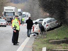U Nesovic se o Velikonocích stala tragická dopravní nehoda.