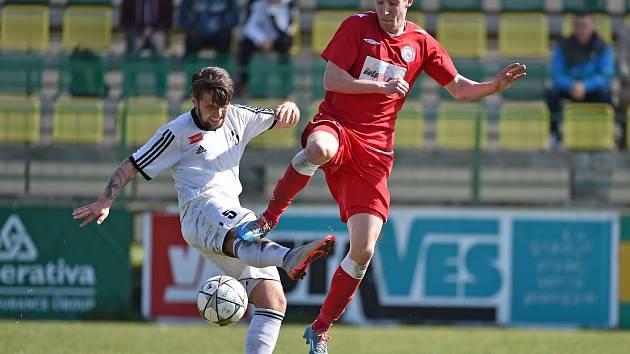 V utkání Moravskoslezské fotbalové ligy 1.HFK Olomouc - MFK Vyškov zvítězili hosté 0:3.