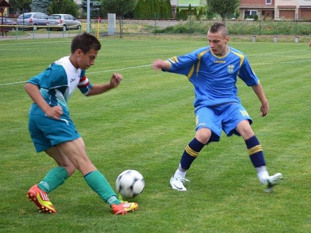 Fotbaloví žáci. Ilustrační foto