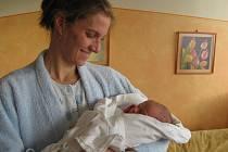První dítě ve vyškovské porodnici se narodilo čtyři hodiny po půlnoci.