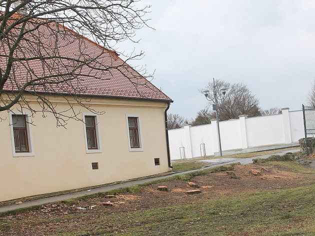 Rekonstrukce prostoru před Muzeem Vyškovska už začala.