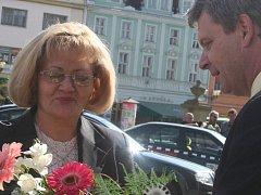 Návštěva z Východu. První kroky delegace Ruské federace v čele se zástupkyní předsedy Senátu Sverdlovské oblasti vedly včera dopoledne na vyškovskou radnici.