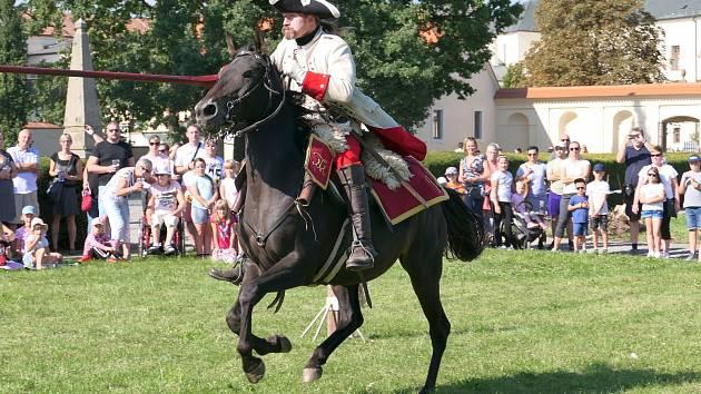 Hlavní program Dnů památek se ve Vyškově odehrál v sobotu v Zámecké zahradě.