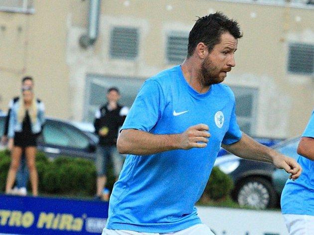 Lukáš Martínek, hrající trenér fotbalistů FC Boskovice