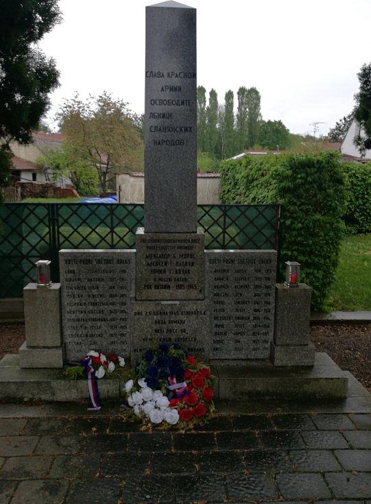 Pomník obětem druhé světové války.